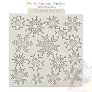 "Katy Sue Moulds Design Mat 4""x 4"" - Snowflake Design"