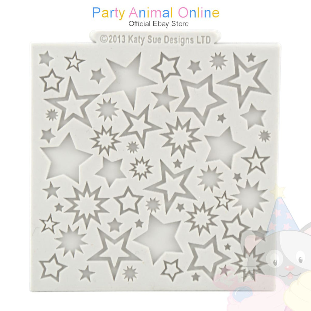 "Katy Sue Moulds Design Mat 4""x4"" - Starburst Design"