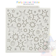 "Katy Sue Moulds Design Mat 4""x 4"" - Starburst Design"