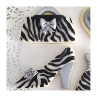 "Katy Sue Moulds Design Mat 4""x 4"" - ZEBRA PRINT"
