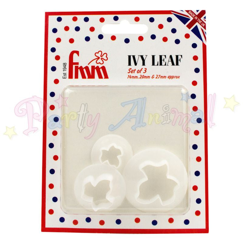 FMM Ivy Leaf Cutters Set