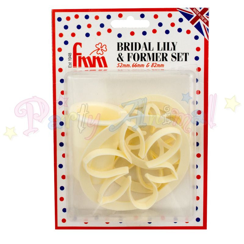FMM Bridal Lily Cutters Set