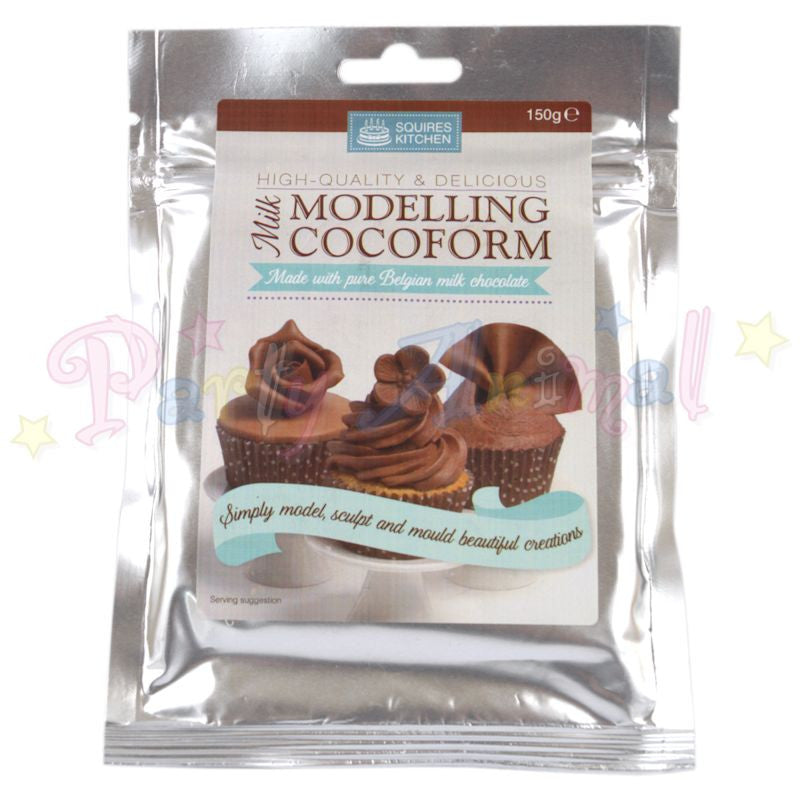 Squires Kitchen Modelling Chocolate Cocoform - Milk Chocolate