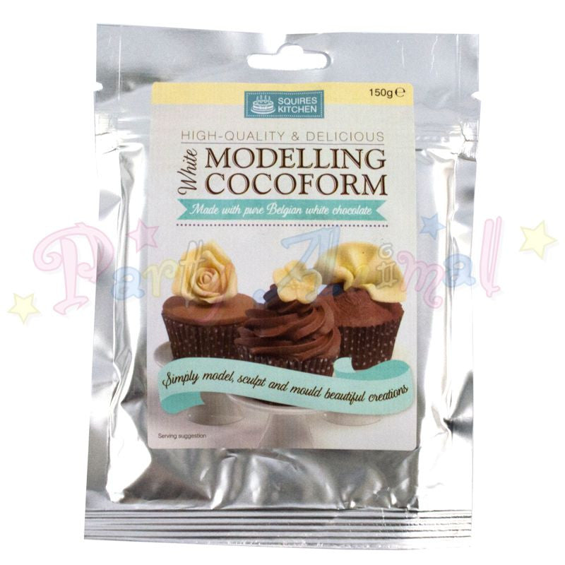 Squires Kitchen Modelling Chocolate Cocoform - White Chocolate