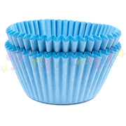 Baking Cases - approx. 50/pack - Plain Blue