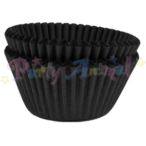 Baking Cases - approx. 50/pack - Plain Black