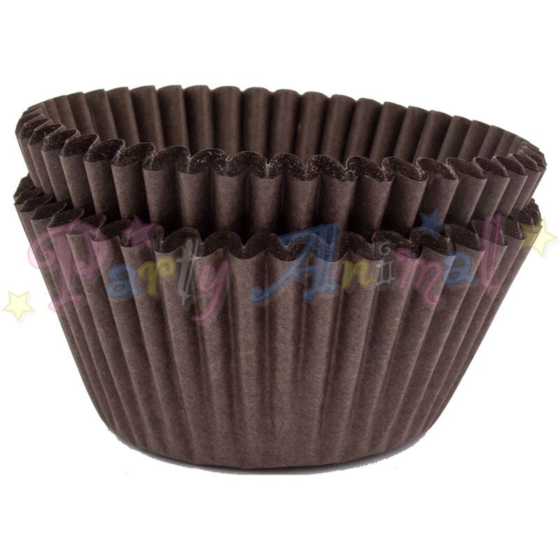 Baking Cases - approx. 50/pack - Plain Brown