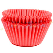 Baking Cases - approx. 50/pack - Plain Red