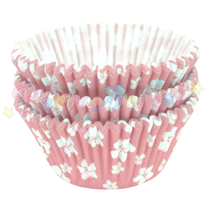 Baking Cases - approx. 54/pack - Pink Blossom