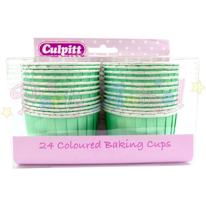 Muffin Cupcake Cups - Pack of 24 - Aqua