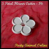 Orchard Products 65mm Five Petal Flower Cutter F6