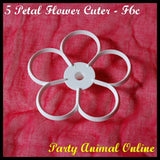 Orchard Products 90mm Five Petal Flower Cutters F6B