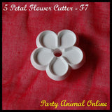 Orchard Products 35mm 5 Petal Flower Cutter F7
