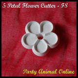 Orchard Products 30mm 5 Petal Flower Cutter F8