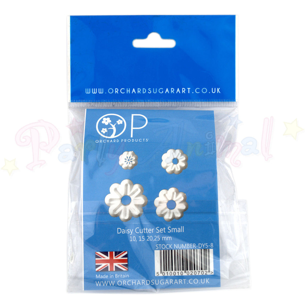 Orchard Products Daisy Flower Cutter Set DY5, DY6, DY7, DY8 - SMALL
