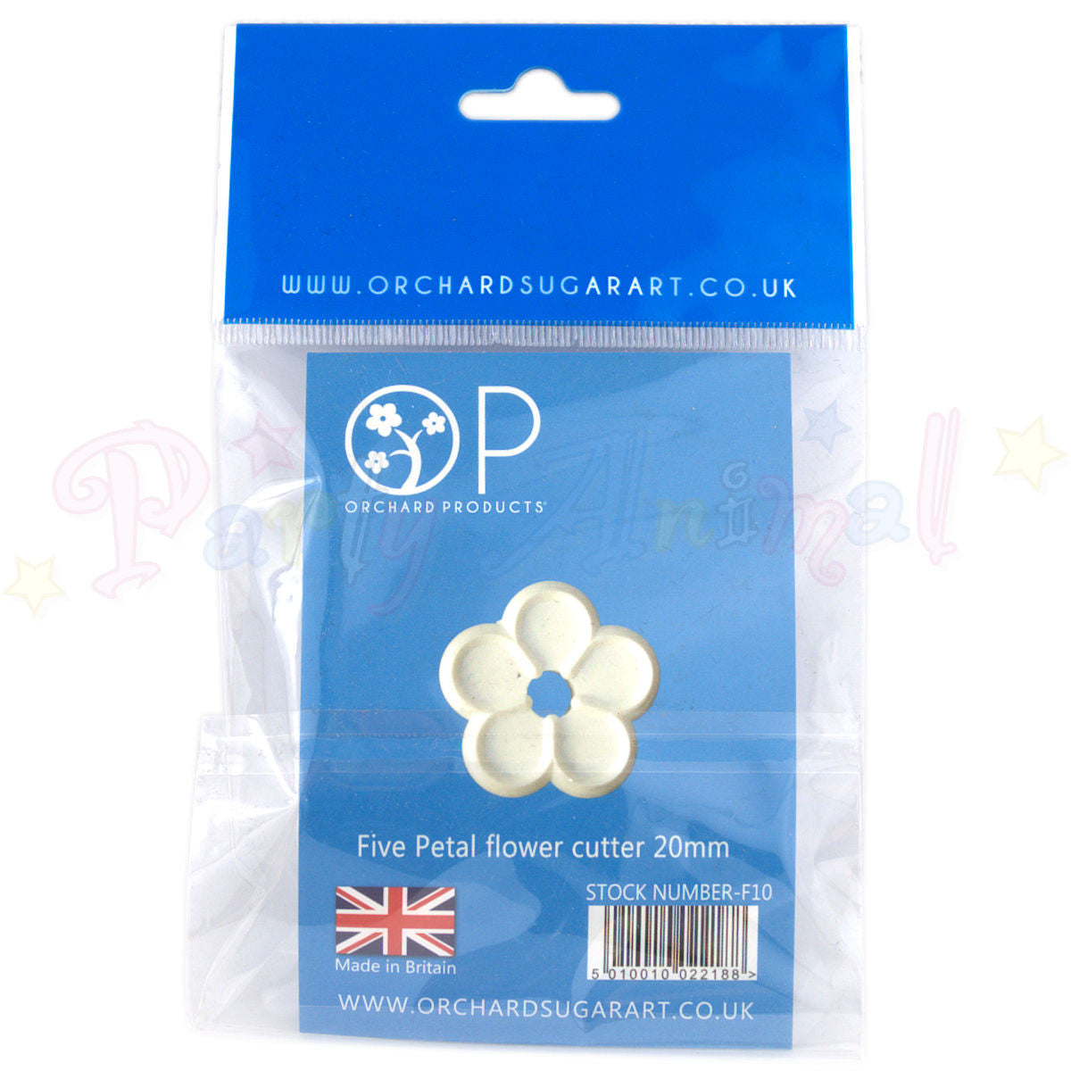 Orchard Products 20mm 5 Petal Flower Cutter F10