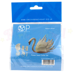 ORCHARD PRODUCTS Flower Swan Cutter & Mould Set