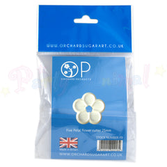 Orchard Products 25mm 5 Petal Flower Cutter F9