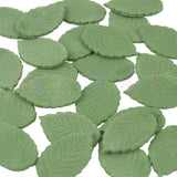 Party Animal Edible Green Rose Leaves - Holly Green - Pack of 24