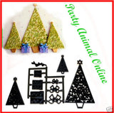 Patchwork Cutters CHRISTMAS TREE AND PARCELS design idea