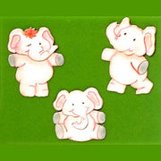 Patchwork Cutters ELEPHANTS Set of 3