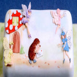 Patchwork Cutters FAIRIES & TOADSTOOLS Fairy Cutter Set Cake Idea