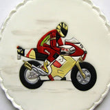Patchwork Cutters MOTORBIKE/ MOTOR CYCLE - Design idea