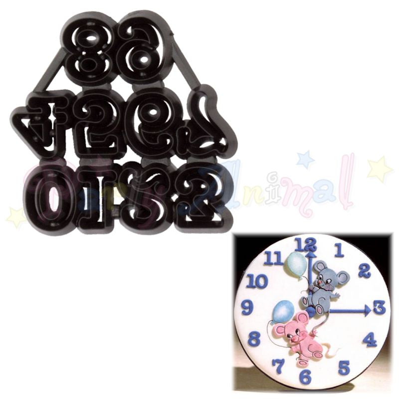 Patchwork Cutters SMALL NUMBERS Numerals Cutter