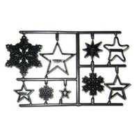Patchwork Cutters SNOWFLAKES and STARS Cutter Detail