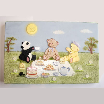 Patchwork Cutters TEDDY BEAR'S PICNIC SET