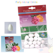 Patchwork Cutters - Polystyrene Flower Buds - 30mm 15 Pack