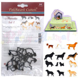 Patchwork Cutters DOG SILHOUETTE SET Cutter Detail