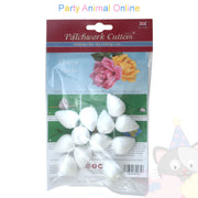 Patchwork Cutters - Polystyrene Flower Buds - 35mm 12 Pack