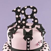 Patchwork Cutters EXTRA LARGE NUMBER 2 Cutter Cake Top Design
