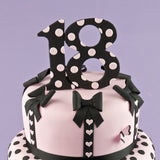 Patchwork Cutters EXTRA LARGE NUMBER 4 Cutter Cake Top Design
