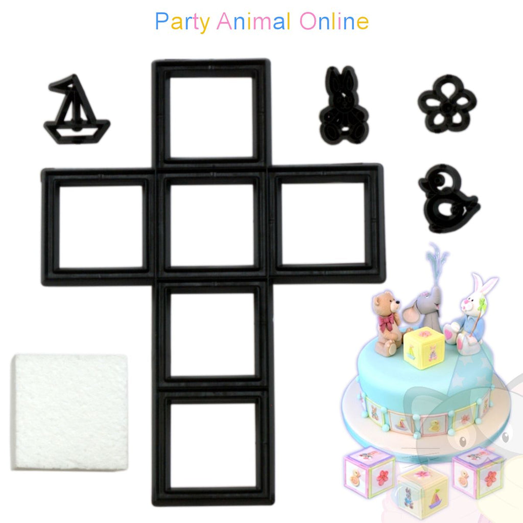 Patchwork Cutters - Nursery Building Blocks