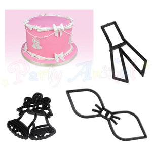 Patchwork Cutters WEDDING BOW & BELL