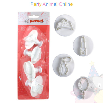 Pavoni Plunger Cutters - Beauty 4 piece
