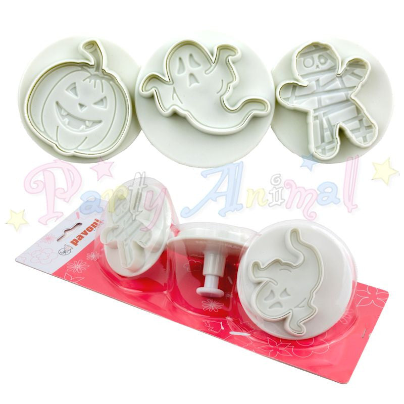 Pavoni Plunger Cutters - Halloween Large 3 Piece