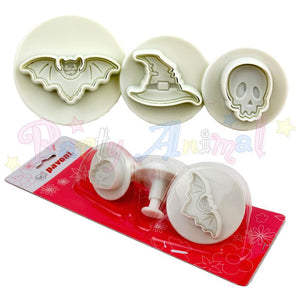 Pavoni Plunger Cutters - Halloween Small 3 Piece