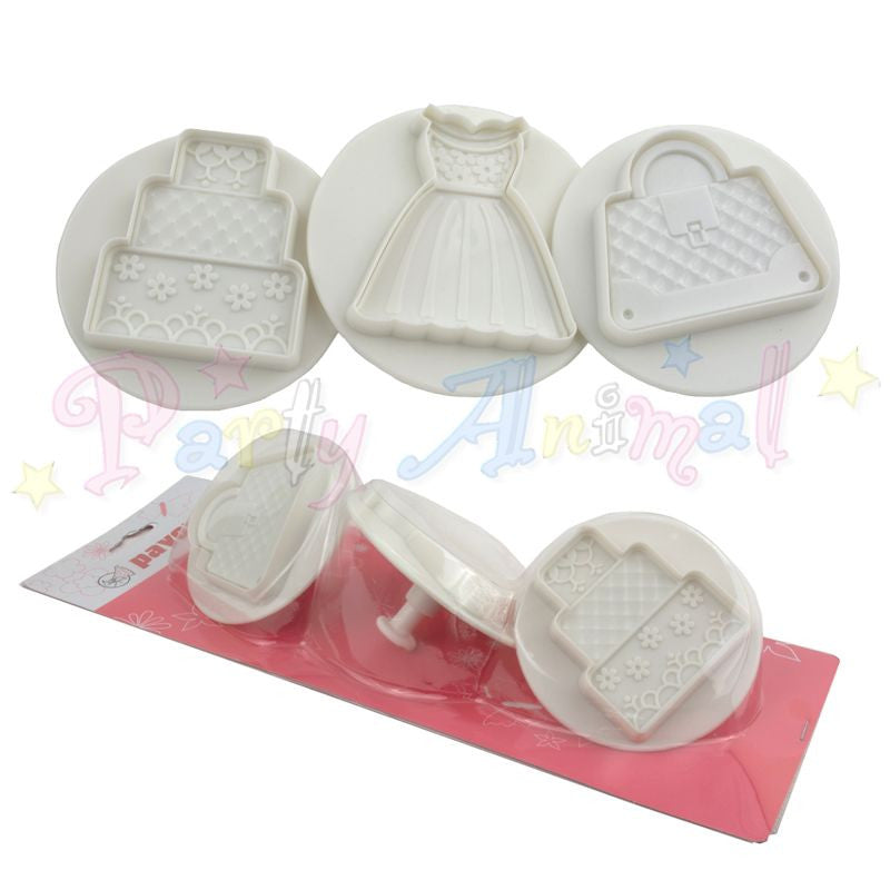 Pavoni Plunger Cutters - Wedding 3 Piece