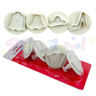 Pavoni Plunger Cutters - Fashion 4 piece
