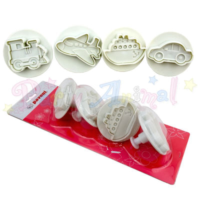 Pavoni Plunger Cutters - Travel 4 piece