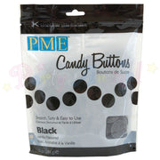 PME Candy Buttons BLACK - Vanilla Flavoured 340g