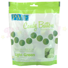 PME Candy Buttons LIGHT GREEN - Vanilla Flavoured 340g