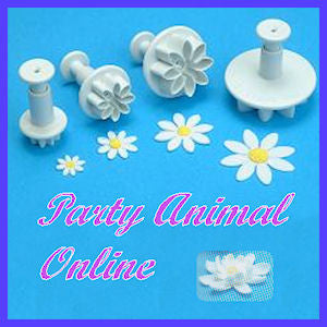 PME Daisy, Margarite Plunger Cutters - Set of 4