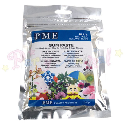 PME Flower / Gum Paste - Blue 200g