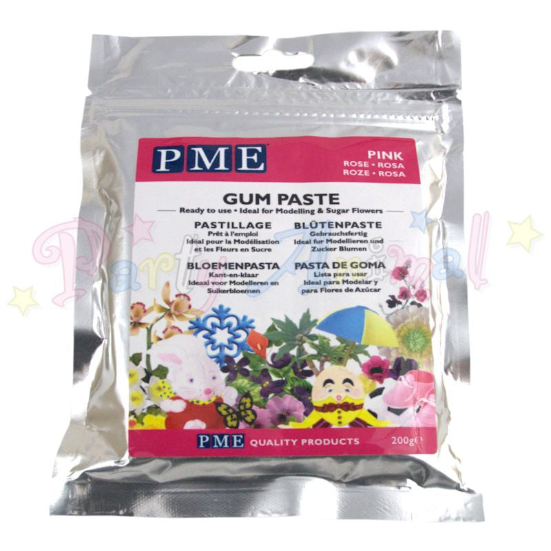 PME Flower / Gum Paste - Pink 200g