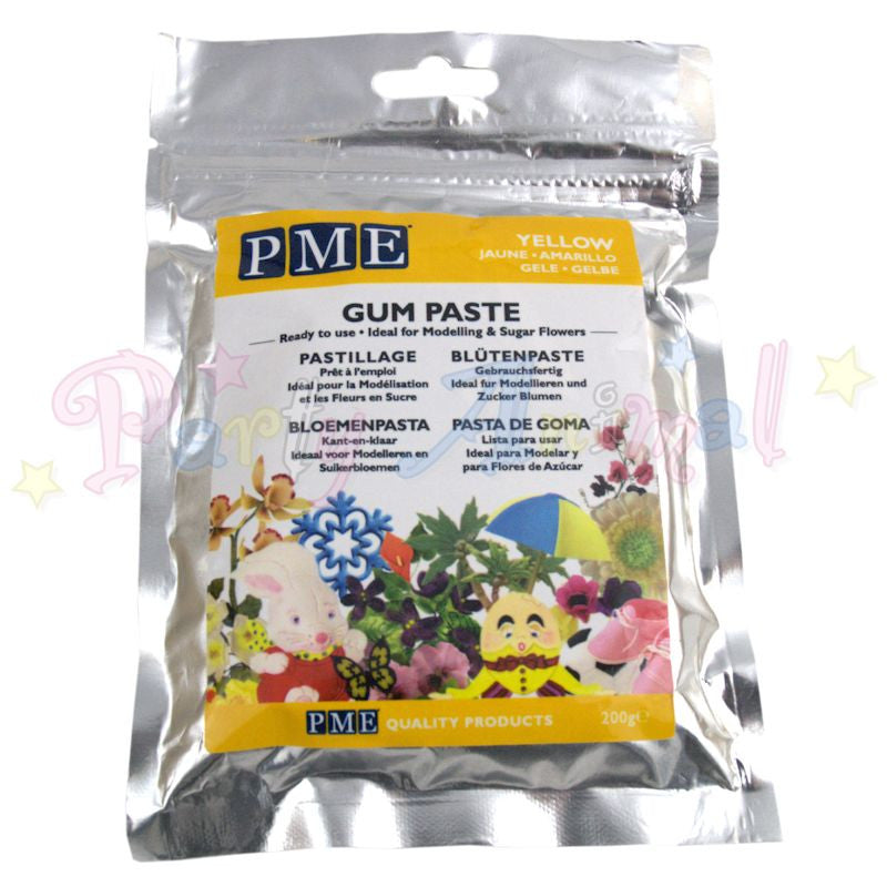 PME Flower / Gum Paste - Yellow 200g
