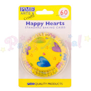PME Bun / Cupcake Cases HAPPY HEARTS - Pack of 60